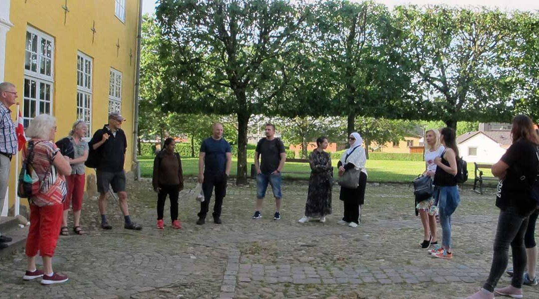 FVU på afslutningstur til Herningsholm Museum